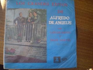 Vinilo Lp Alfredo De Angelis Grandes Exitos (u1171