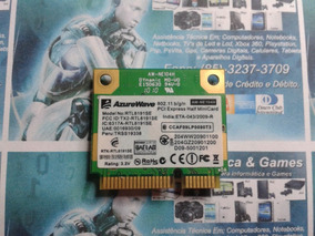 Placa Mini-pci Wifi Do Notebook Itautec Infoway 7410