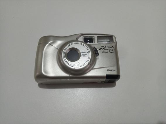 Câmera Analógica Yashica Mg-motor Lomo Filme 35mm