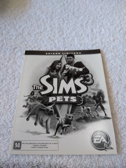 Manual Do Game The Sims 3 Pets Ps3 *** Leia