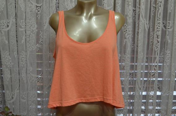 Musculosa De Muaa Original Naranja Talle M (ast)