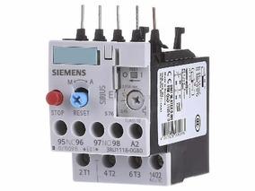 Relê Sobrecarga Bimetálico Siemens 3ru1116-0gb0 0,45-0,63a
