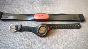 Relogio Monitor Cardiaco Nike Com Fita De Peitoral Usado