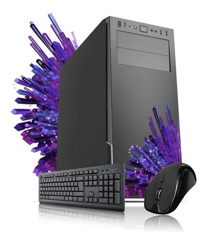 Imagen 1 de 3 de Pc Armada Diseño Intel I5 10400 Mother H310m Ddr4 8gb Cuotas