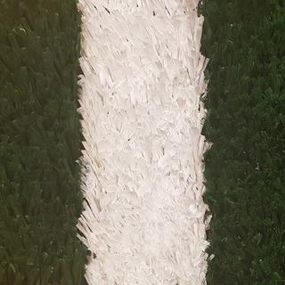 Cesped Sintetico Blanco 20mm Cancha Futbol Cesped Premium