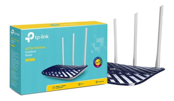 Router Ac750 Wifi Dual Band 733mbps Archer C20 Noaweb