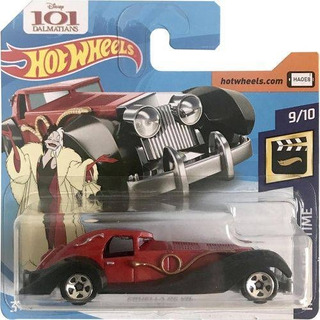 Hot Wheels Cruella Devil 101 Dálmatas
