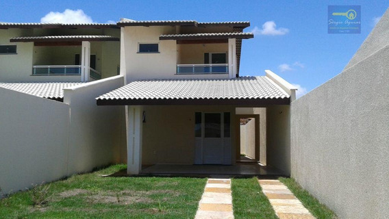 Sobrado Residencial À Venda, Parque Manibura, Fortaleza. - Codigo: Ca0113 - Ca0113