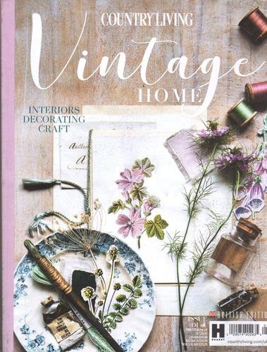 Country Living Vintage Home - Revista De Decoração