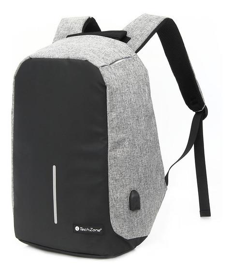 Back Pack Antirrobo Techzone Tz18lbp02 De 15.6