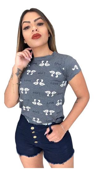 10 Camisetas Feminina Camisas Blusas Atacado Baratas