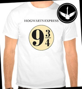 Camiseta Harry Potter Plataforma 9 3/4 Filme Livro Baby Look