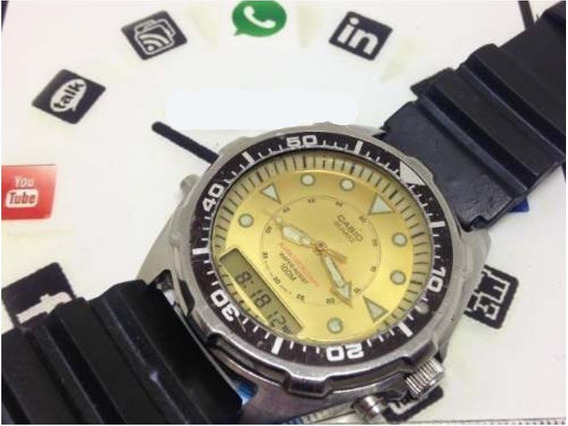 Relógio De Pulso Casio T07342 Masculino Webclock