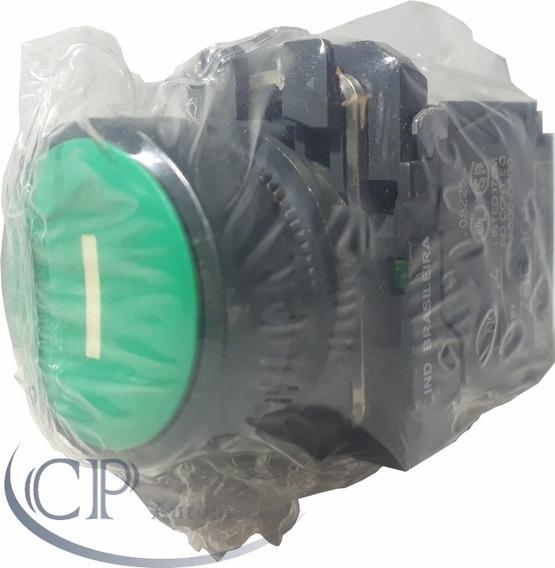 Kit C/ 2 Botão De Pulso Verde 22mm Telemecanique