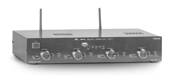 Amplificador Receiver Para Som Ambiente Frahm Rd 480 Wifi Bt