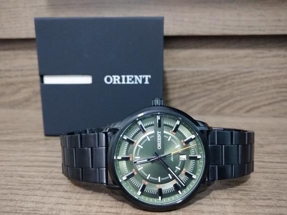 Relógio Orient Mpss1010 E1px Preto Verde Analogico