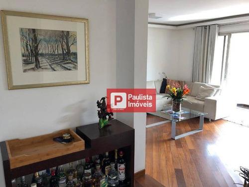 Apartamento Com 3 Dormitórios À Venda, 122 M² Por R$ 1.197.000,00 - Moema - São Paulo/sp - Ap27817