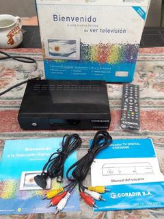 Decodificador Digital Tda Coradir Cdr3000d Casi Nuevo