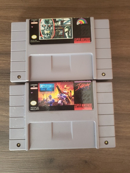 2 Jogos Snes, T2 The Arcade Game, C2 The Judgment Clay