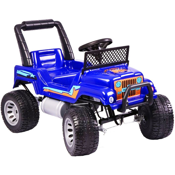Jeep Auto Camioneta A Pedal Classic Rodacross 3 A 7 Años