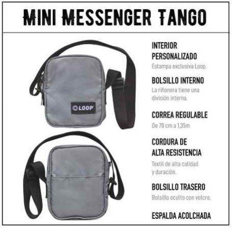 Bolso - Morral Messenger Loop