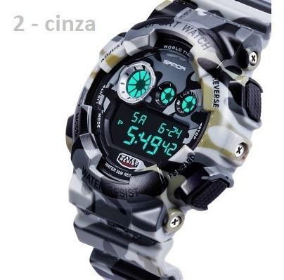 Relógio Modelo G Shok Com Nota 100% A Prova D Aguas Eef