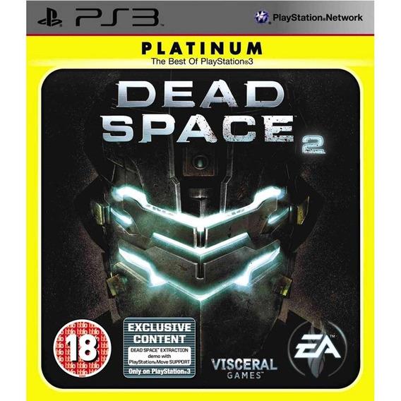 Dead Space 2 Ps3 Lacrado Midia Fisica Platinum