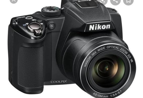 Câmera Nikon Semi-profissional Coolpix P500 (usada)
