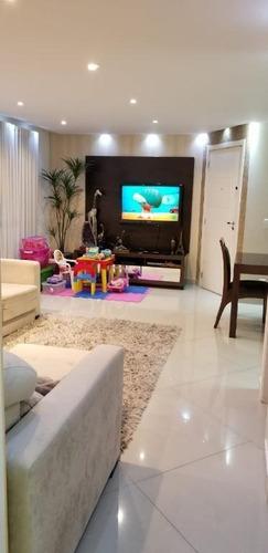 Apartamento Com 3 Dormitórios À Venda, 92 M² Por R$ 800.000 - Jardim Piqueroby - São Paulo/sp - Ap6269