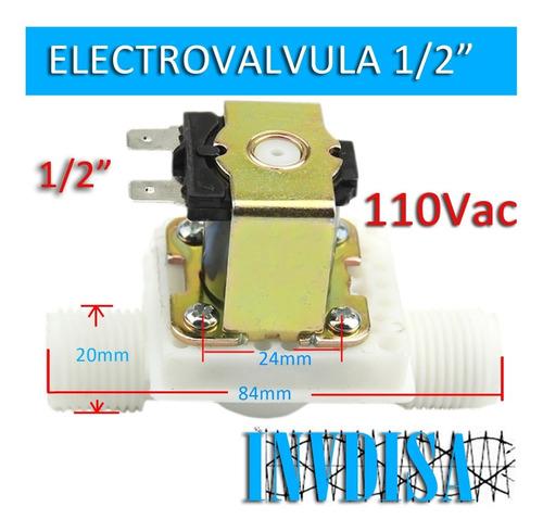 Electrovalvula 1/2 110vac N.cerrada 127v - Riego, Agua Aire