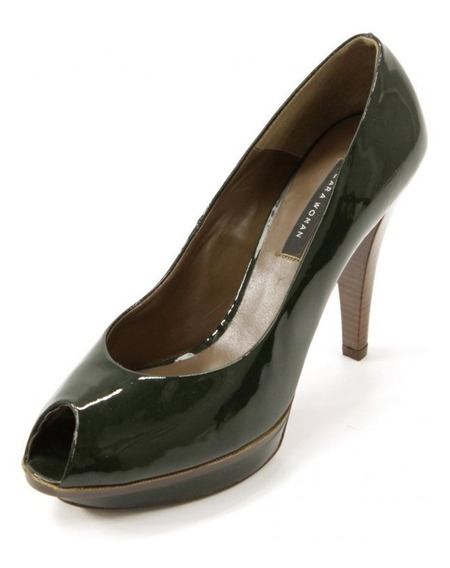 Zapatos Verdes Zara Woman