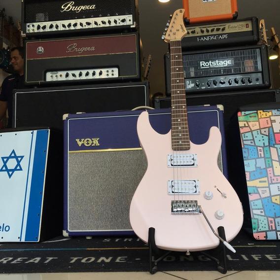 Kit Completo Guitarra Waldman + Capa + Correia + Cabo