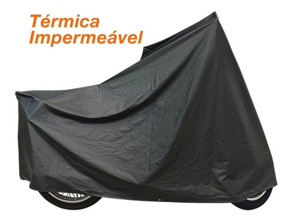 Capa Térmica Impermeável Moto Triumph Bonneville Bobber Ctm4
