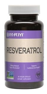 Trans Resveratrol Com Extrato De Uva Vermelha Mrm 30mg - Eua