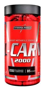 L-carnitina 2000 Queimador Gordura 120caps Integral L-carn