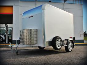 Alutrail Trailer 100% Aluminio Cerrado Para Carga
