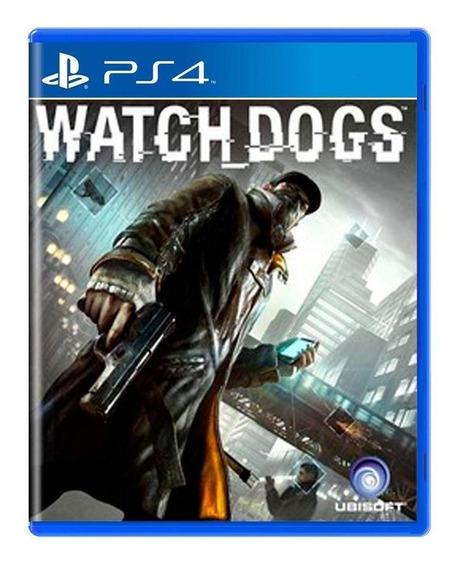 Watch Dogs Ps4 Mídia Física Pronta Entrega
