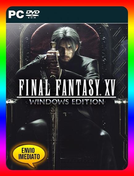 Final Fantasy Xv Windows Pc - Steam Key (envio Já)
