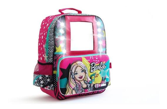 Mochila De Espalda Barbie Beauty T.v 16180-18 Original 16