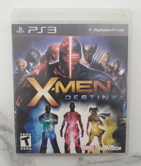 Jogo X- Men Destiny - Ps3 - Mídia Física Cd Original Xmen