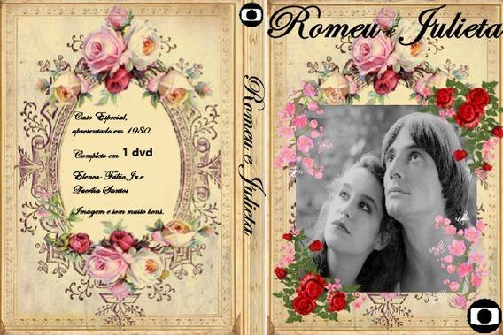 Dvd Romeu E Julieta (fábio Jr E Lucélia Santos) Frete Grátis
