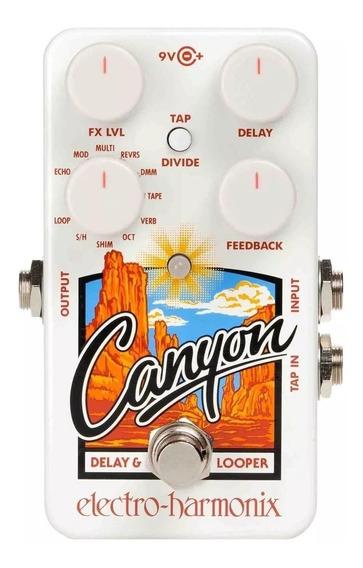 Pedal Electro Harmonix Canyon Delay E Looper Dealer Oficial