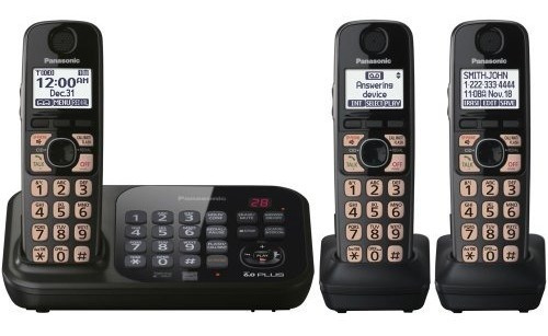 Panasonic Kx-tg4743b Dect 6.0 Teléfono Inalámbrico Con