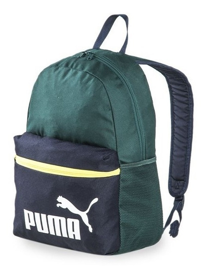 Mochila Puma Varios Modelos Lanzamiento 2020 Verde Ingles