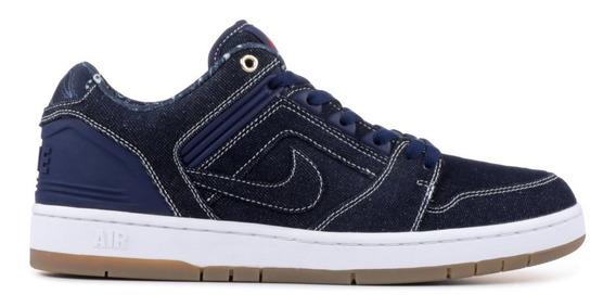 Zapatillas Nike Sb Air Force 2 Low Azul Hombre Mujer Nuevas