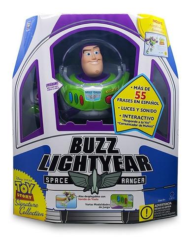Imagen 1 de 7 de Buzz Lightyear Interactivo 30 Cm 55 Frases Disney Toy Story