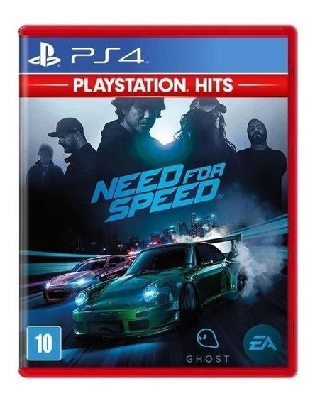 Need For Speed Ps4 - Midia Fisica - Lacrado - Portugues