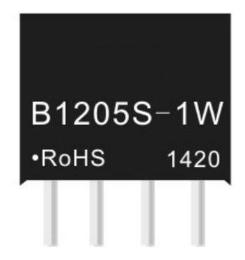 B1205s-1w Conversor Dc Step Down Isolador 5v 1w Miniatura