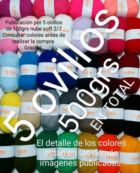 Lana Cashmilon Nube Soft 2/7 Ovillos De 100gs