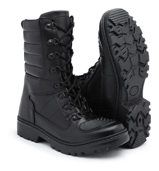 Bota Coturno Militar Tática C/ Proteção No Bico Ref:militar